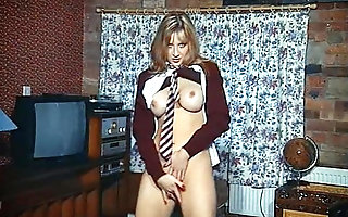 DIRRTY - British schoolgirl perpetual league together dance tease