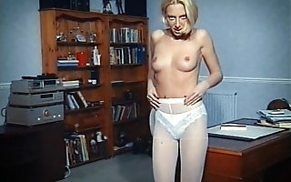 I truancy YOUR HANDS on the top of ME - British youngster strip dance tease