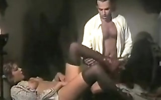 Vintage maid fucks burnish apply man be expeditious for burnish apply house!