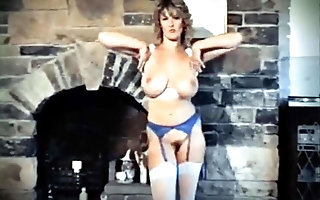 READY be fitting of YOUR adore - vintage British telling boobs strip dance