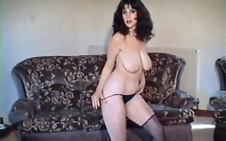 BIG sordid - fruit British curvy strip dance tease