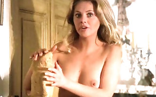 Britt Ekland wide The Wicker bloke song