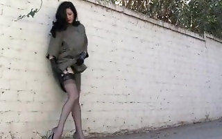 Full Fashion Nylons Walk in Alley