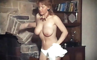 HEY YA - vintage bodkin chunky champagne boobs strip dance